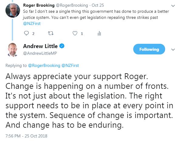 Twitter - Andrew Little